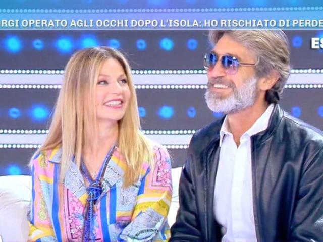 """Brando Giorgi/ """"Ho rischiato di perdere la vista"""", moglie Daniela """"nostra figlia…"""""""