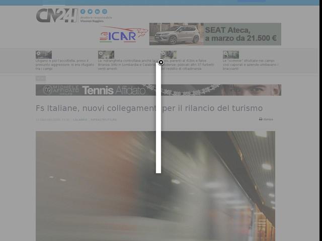 Fs Italiane, nuovi collegamenti per il rilancio del turismo