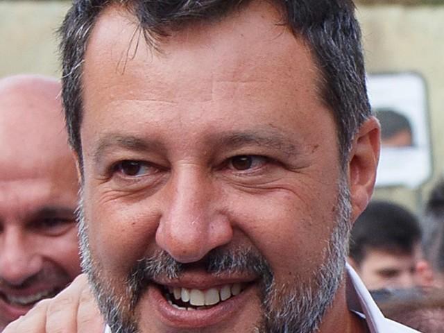 """È la mattinata di Matteo Salvini con il """"ticket"""" Dipiazza-Polidori"""