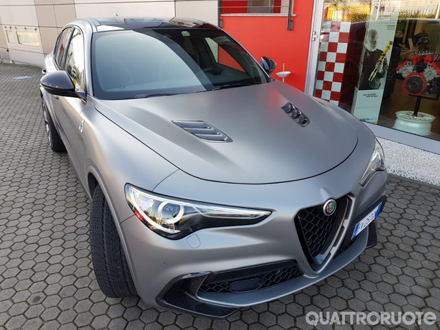 Alfa Romeo Stelvio Quadrifoglio - Con Romeo Ferraris la N-Ring sfiora i 600 CV