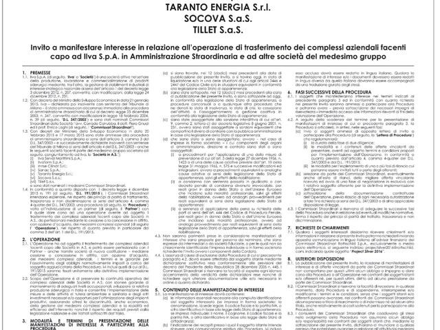 Ilva: criticità nell'assegnazione ad Arcelor Mittal, relazione dell'anticorruzione All'Anac si era rivolto il ministro Di Maio su richiesta del governatore pugliese