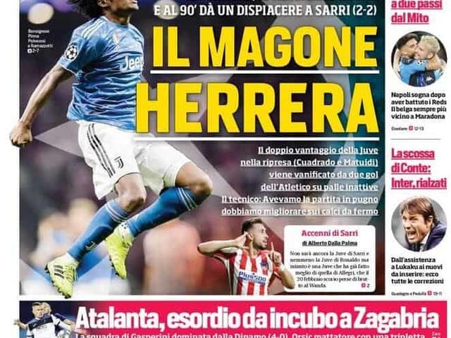 Corriere dello Sport – La scossa di Conte