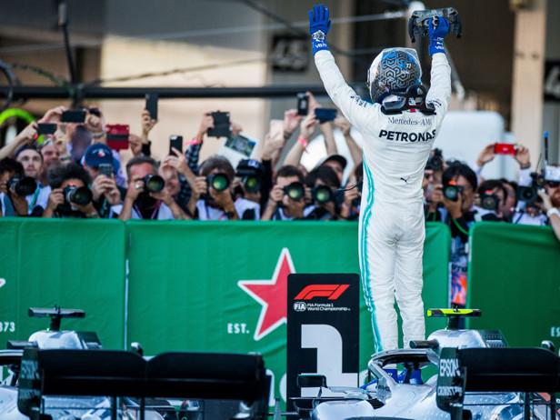 F1, GP Giappone: vince Bottas, Vettel 2° e penalità Leclerc. A Mercedes titolo Costruttori