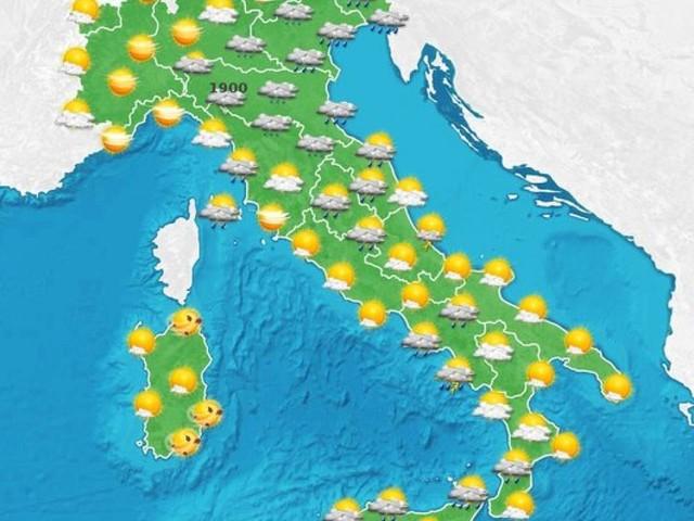 Spiccata instabilità con clima molto fresco fino a Mercoledì poi più sole ovunque