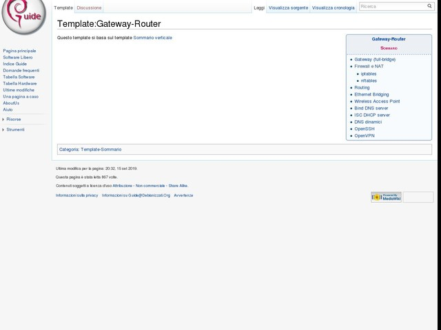Template:Gateway-Router