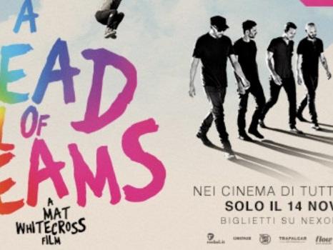Tutte le sale del docu-film Coldplay A Head Full of Dreams al cinema il 14 novembre e info sui biglietti