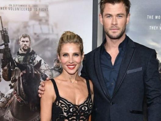 "Chris Hemsworth ed Elsa Pataky presentano ""12 Strong"" a New York"