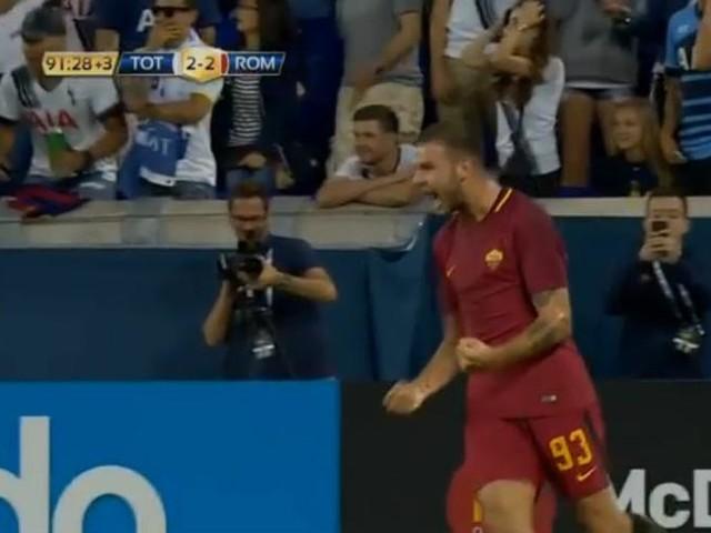 Roma-Tottenham 3-2