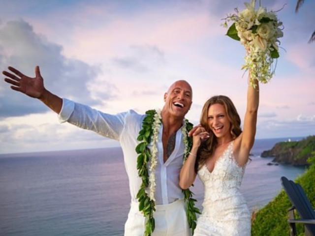 Dwayne Johnson ha sposato Lauren Hashian