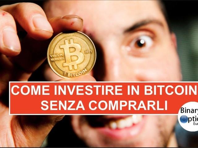 Come investire in Bitcoin senza comprare Bitcoin con il trading