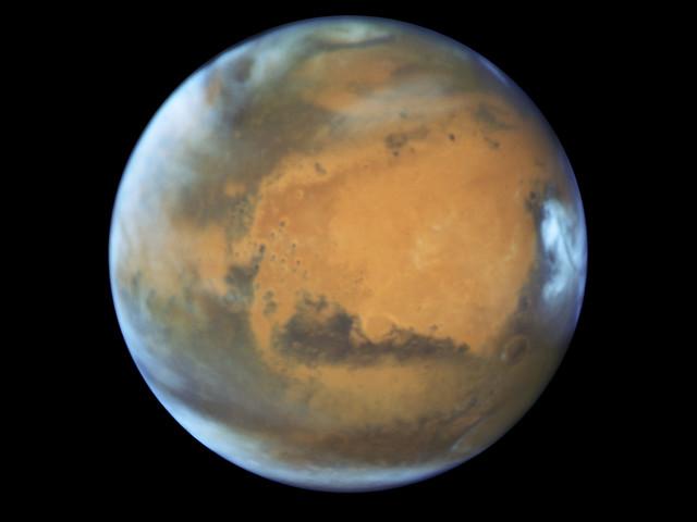 Ossigeno su Marte: rilevate le prime molecole