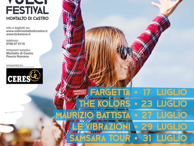 Montalto, Fargetta apre il Vulci festival on the beach