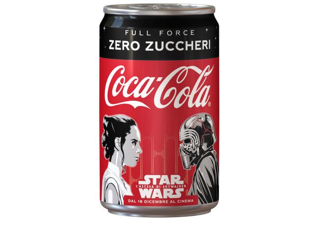 Full Force Zero Zuccheri: Coca-Cola celebra con una limited edition l'ultima uscita di Star Wars