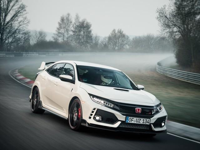 Honda Civic Type R - Nuovo record al Nürburgring - VIDEO