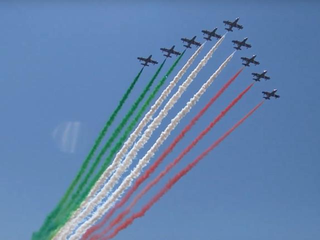Ladispoli, lo spettacolare video dell'Air Show