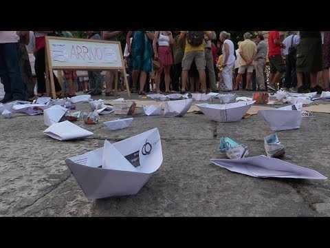 Palermo, centinaia in piazza contro il decreto sicurezza bis