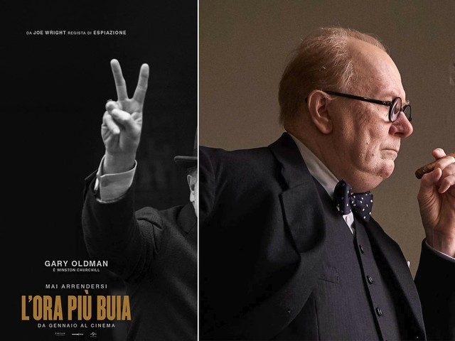 L'ora più buia: Gary Oldman è Winston Churchill
