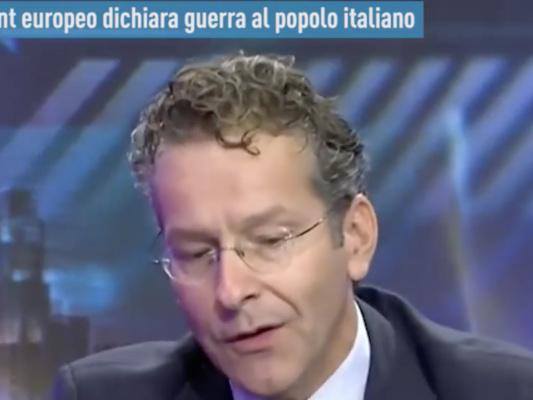Il caso delle dichiarazioni fasulle di Dijsselbloem contro l'Italia