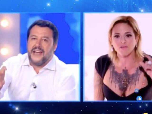 Asia Argento e Matteo Salvini, clamoroso dietro le quinte – VIDEO