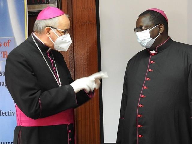 Pope Francis donates Ventilators to Zambia