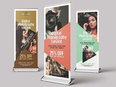 22 Creative Roll-Up Banner Designs (Templates to Download Now)