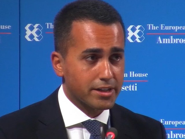 L'intervento di Luigi Di Maio a Cernobbio: Italia smart nation