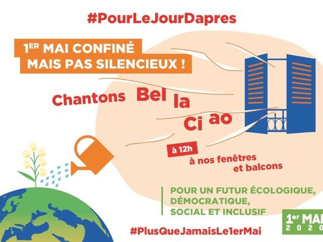 """Primo Maggio: Plus jamais ça! 25 sindacati e associazioni sociali e ambientaliste francesi chiedono di preparare """"il giorno dopo"""""""