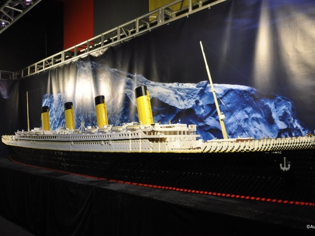 """Roma, danneggiato ma non """"affondato"""" il Titanic di Lego al Guido Reni: sarà di nuovo visibile"""