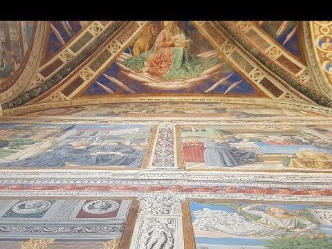 Restauro affreschi B.Gozzoli S.Gimignano