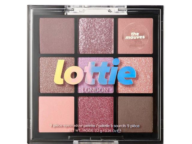 Recensione Palette Lottie London The Mauves 9 Piece