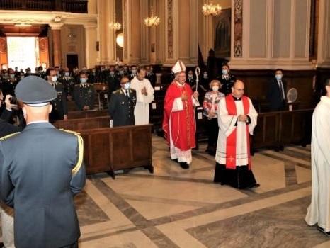 Messina, celebrato dalla guardia di finanza il Patrono San Matteo