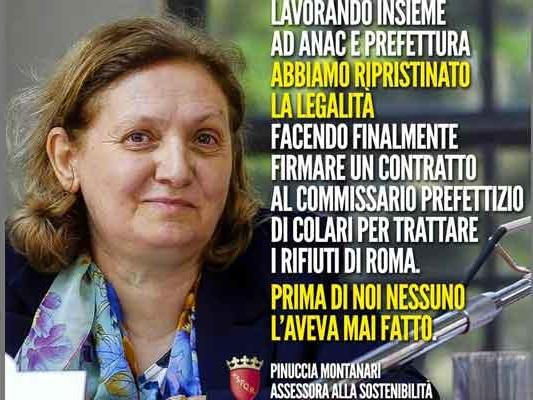 Rifiuti a Roma: ripristinata la legalità