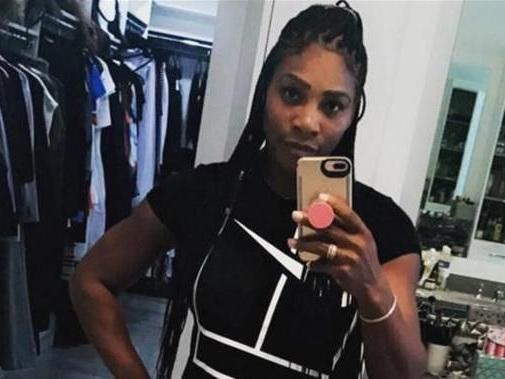 Serena Williams già in forma