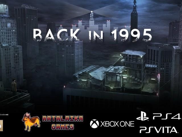 Ratalaika Games e Throw the Warped ci portano indietro nel tempo con Back in 1995