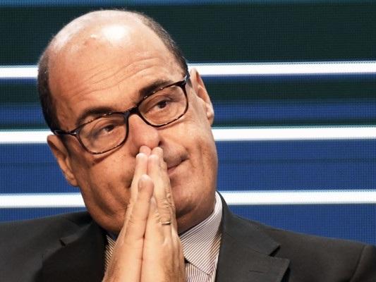 La reazione di Zingaretti alla scissione di Renzi