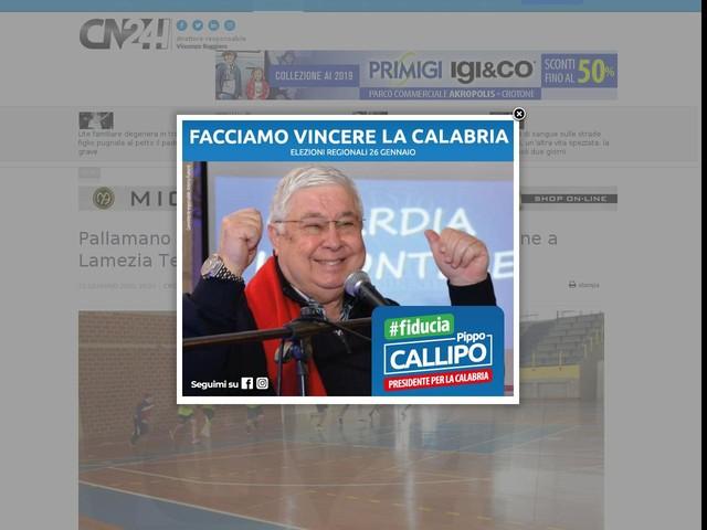 Pallamano under 15: esordio vincente per il Crotone a Lamezia Terme
