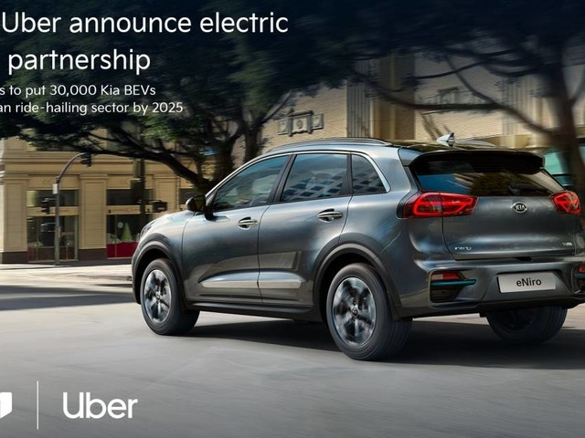Uber - Kia fornirà 30 mila auto elettriche