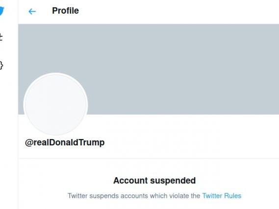 Trump bandito da Twitter, ma non è censura