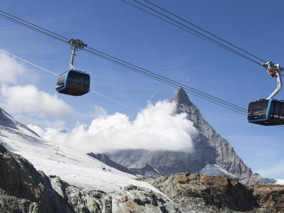 Inaugurata a Zermatt la funivia trifune più alta del mondo