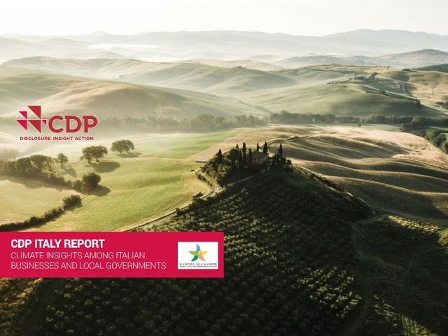 Per le imprese italiane rischi per 40 miliardi di euro per effetto del cambiamento climatico