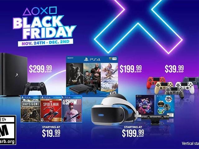 PlayStation Black Friday 2019: annunciati gli sconti USA per PS4, PS4 PRO, PSVR e giochi