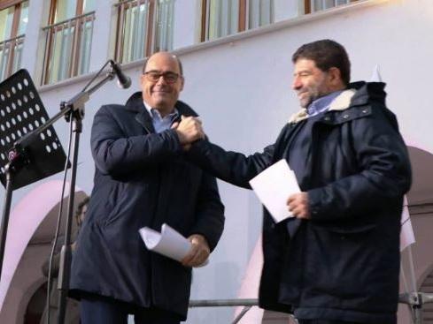 """Basilicata al voto, Zingaretti per Trerotola: """"Il Governo di destra è contro il Sud"""""""