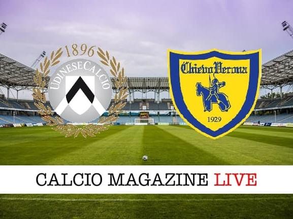 Udinese – Chievo: cronaca diretta live, risultato in tempo reale