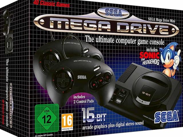 SEGA Mega Drive Mini - recensione