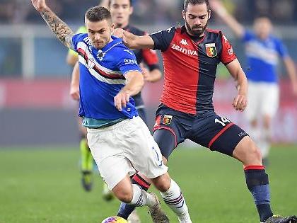 Serie A, il Derby lo risolve Gabbiadini: festa Samp, Genoa all'inferno