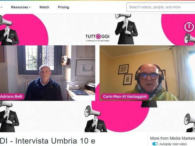 """Lirico Sperimentale, il Prof. Enrico Girardi Condirettore Artistico a """"Umbria 10 e Lode"""""""