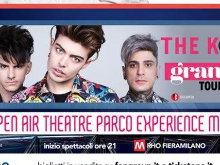 I concerti Open Air Theatre di Experience Milano, dai The Kolors a Carmen Consoli e Gazzè