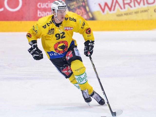 Interesse dei Montreal Canadiens per l'attaccante del Berna, Gaetan Haas