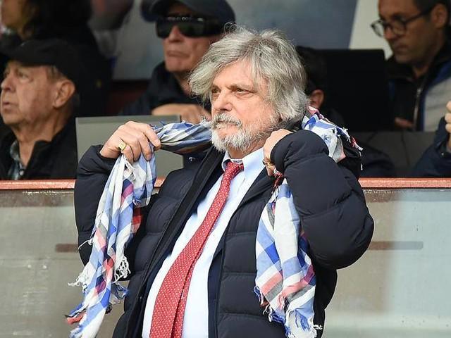 """Ferrero scaccia le sirene """"Giampaolo è roba mia"""""""
