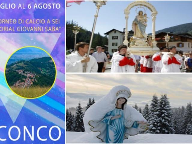 """""""Sagra della Madonna della Neve 2017"""" a Conco"""